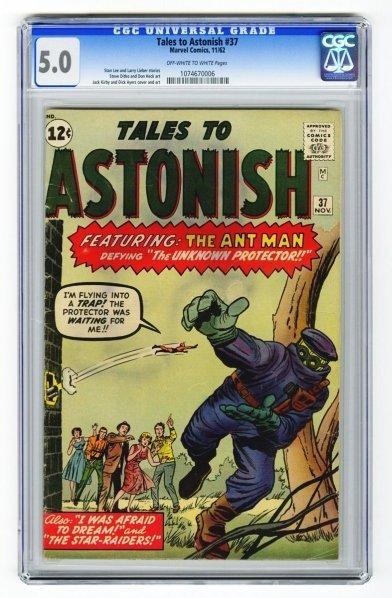 6: Tales to Astonish #37 CGC 5.0 Marvel Comics 11/62