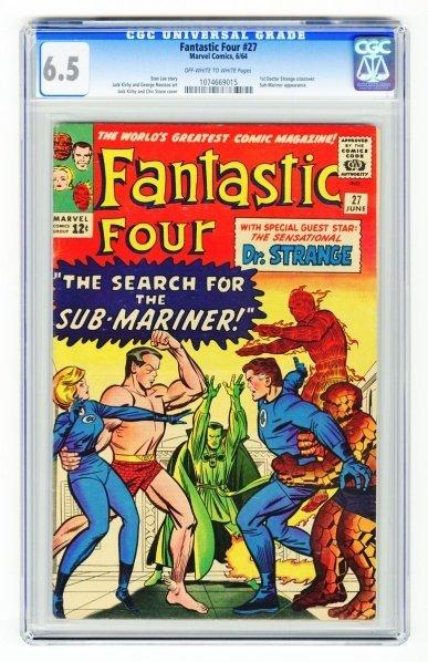 13: Fantastic Four #27 CGC 6.5 Marvel Comics 6/64.