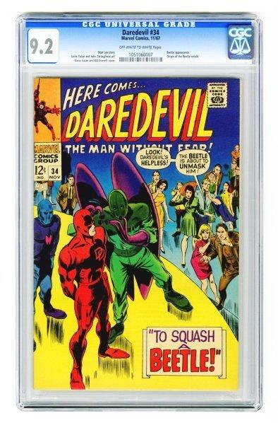 17: Daredevil #34 CGC 9.2 Marvel Comics 11/67.