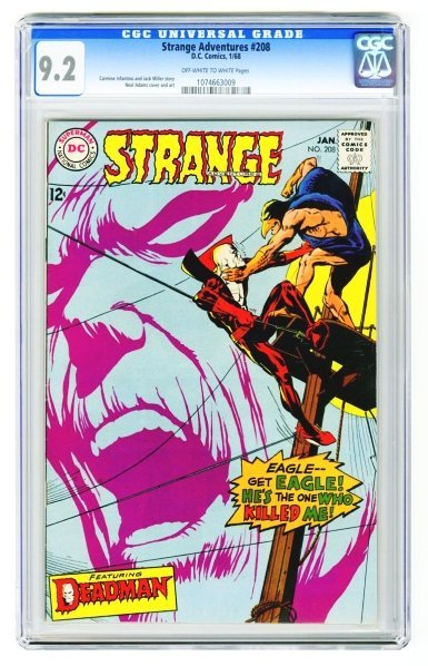 19: Strange Adventures #208 CGC 9.2 D.C. Comics 1/68.