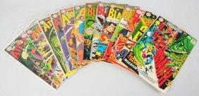 Lot Of 14: 1960s DC Superhero Comic Books.