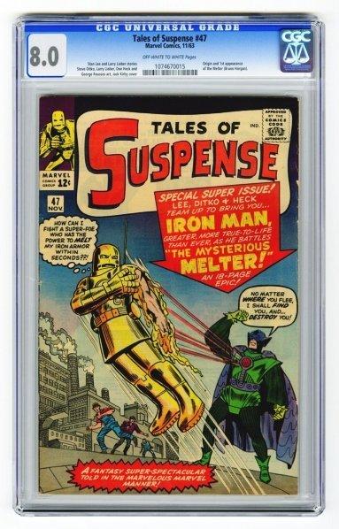 30: Tales of Suspense #47 CGC 8.0 Marvel Comics 11/63