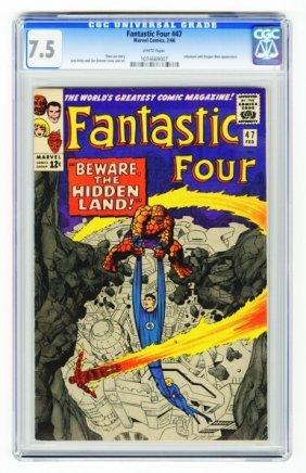 Fantastic Four #47 CGC 7.5 Marvel Comics 2/66.