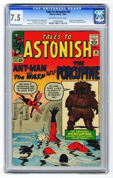 41: Tales to Astonish #48 CGC 7.5 Marvel Comics 10/63