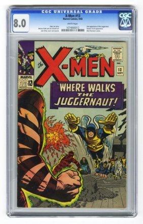 X-Men #13 CGC 8.0 Marvel Comics 9/65.