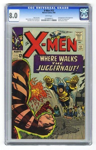 42: X-Men #13 CGC 8.0 Marvel Comics 9/65.