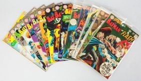 Lot Of 14: 1960s Brave & The Bold Comic Books.