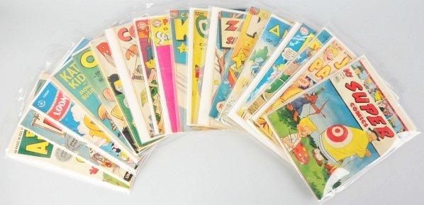 52: Lot of 18: 1940s-50s Funny Comic Books.