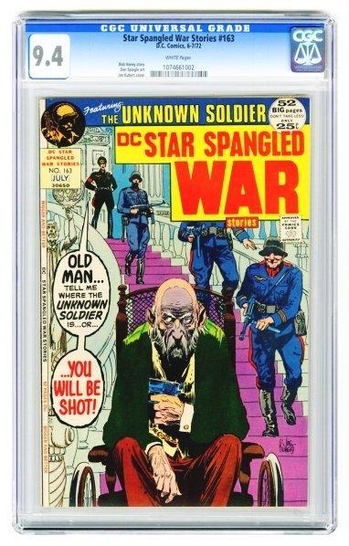 58: Star Spangled War Stories #163 CGC 9.4.