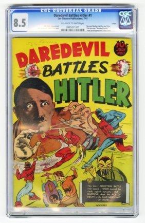 Daredevil Battles Hitler #1 CGC 8.5.