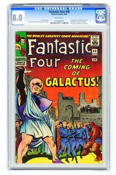 61: Fantastic Four #48 CGC 8.0 Marvel Comics 3/66.