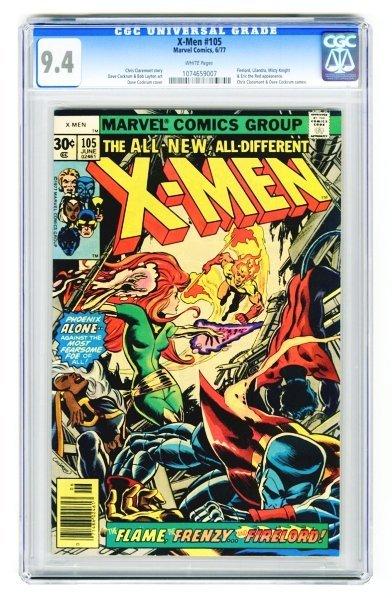63: X-Men #105 CGC 9.4 Marvel Comics 6/77.