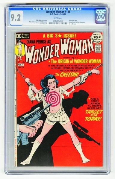 72: Wonder Woman #196 CGC 9.2 D.C. Comics 9-10/71.