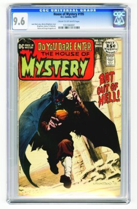 House Of Mystery #195 CGC 9.6 D.C. Comics 10/71.
