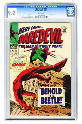 Daredevil #33 CGC 9.2 Marvel Comics 10/67.