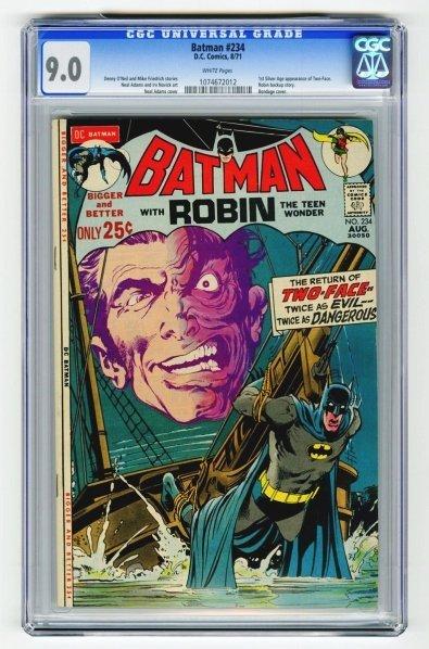 103: Batman #234 CGC 9.0 D.C. Comics 8/71.