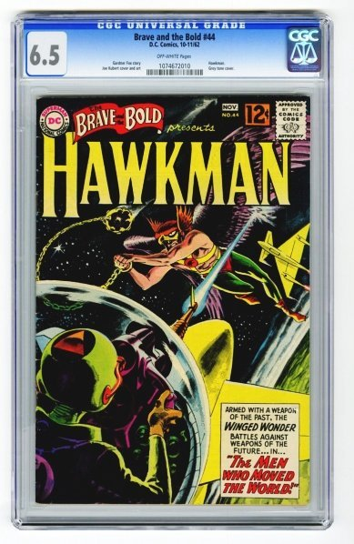 104: Brave and the Bold #44 CGC 6.5 D.C. Comics.
