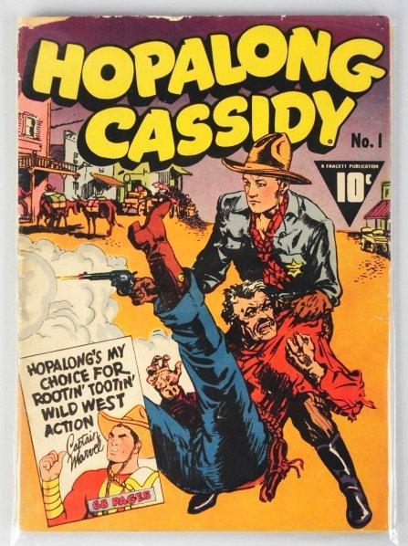 113: 1943 Hopalong Cassidy #1 Comic Book.