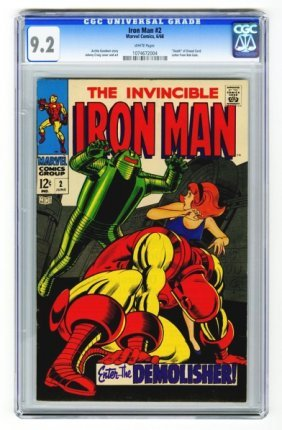 Iron Man #2 CGC 9.2 Marvel Comics 6/68.