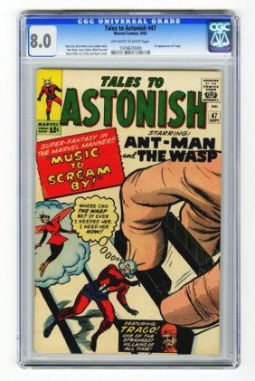 Tales To Astonish #47 CGC 8.0 Marvel Comics 9/63.
