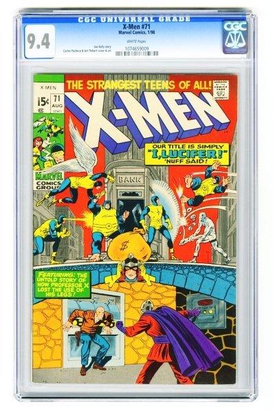 145: X-Men #71 CGC 9.4 Marvel Comics 1/98.