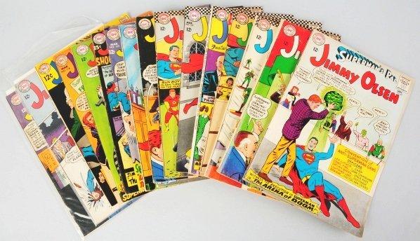 151: Lot of 17: Superman's Pal Jimmy Olsen Comic Books