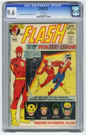 Flash #213 CGC 9.6 D.C. Comics 3/72.