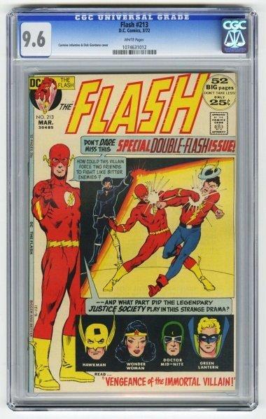 162: Flash #213 CGC 9.6 D.C. Comics 3/72.