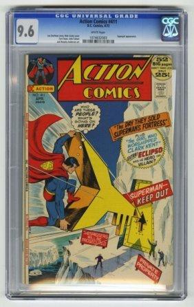 Action Comics #411 CGC 9.6 D.C. Comics 4/72.