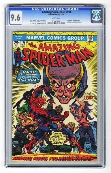 167: Amazing Spider-Man #138 CGC 9.6.