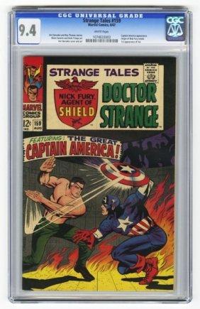 Strange Tales #159 CGC 9.4 Marvel Comics 8/67.