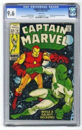 Captain Marvel #14 CGC 9.6 Marvel Comics 6/69.