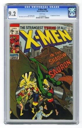 X-Men #60 CGC 9.2 Marvel Comics 9/69.
