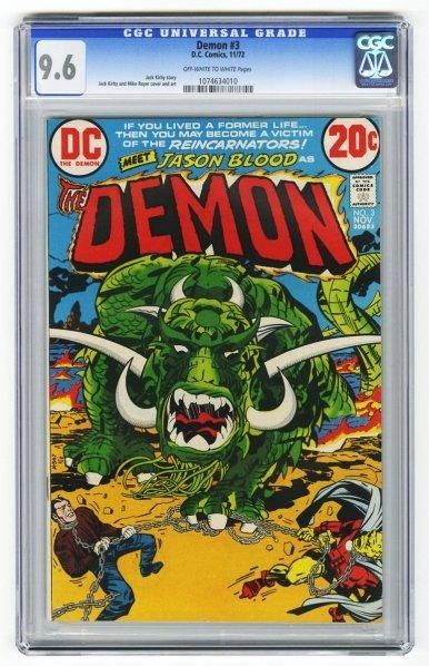 193: Demon #3 CGC 9.6 D.C. Comics 11/72.