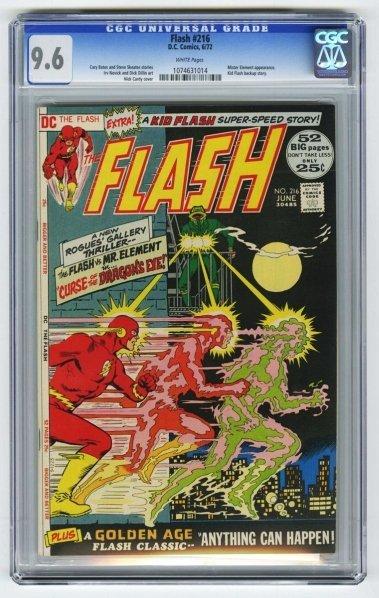 195: Flash #216 CGC 9.6 D.C. Comics 6/72.