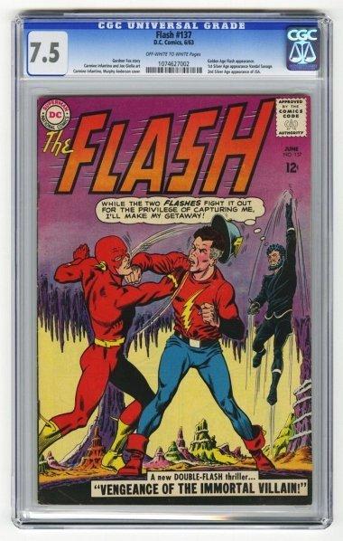 204: Flash #137 CGC 7.5 D.C. Comics 6/63.
