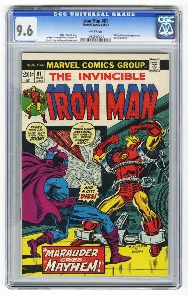 215: Iron Man #61 CGC 9.6 Marvel Comics 8/73.