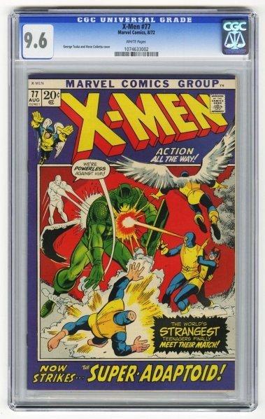 216: X-Men #77 CGC 9.6 Marvel Comics 8/72.
