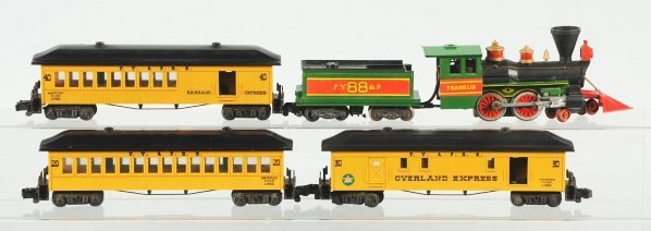 12: American Flyer Franklin Passenger Train Set.