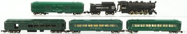 19: American Flyer No. 342AC Passenger Train Set.