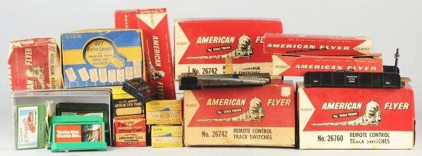 25: American Flyer S-Gauge Train Accessories.