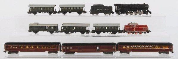 46: Lot of Marklin & Fleischmann HO Passenger Trains.