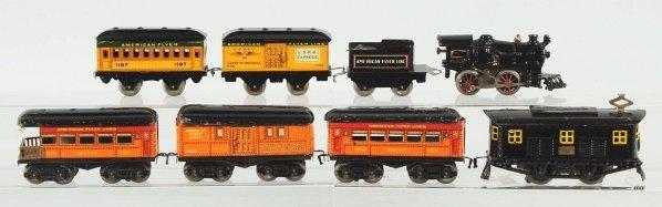 47: Lot of 2: American Flyer Passenger Train Sets.