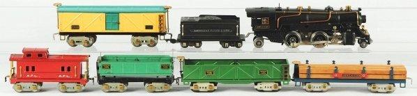 48: Tinplate American Flyer O-Gauge Freight Train Set
