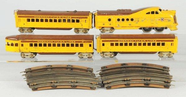 57: American Flyer Union Pacific Passenger Train Set.