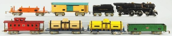 62: American Flyer Freight Train Set.