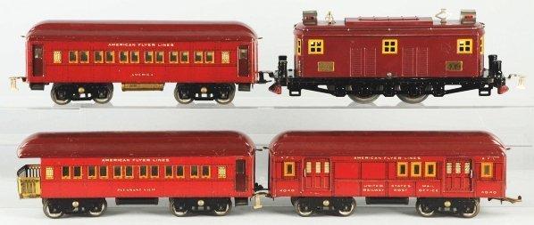 67: American Flyer Standard Gauge Passenger Train Set