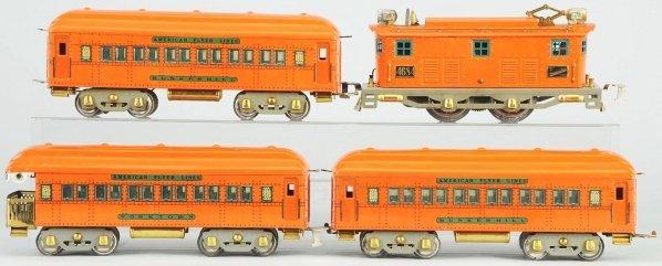 69: American Flyer Standard Gauge Passenger Train Set