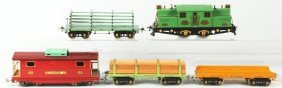 Ives Standard Gauge No. 3242 Freight Train Set.