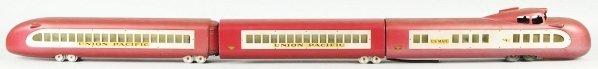 102: General Trains Union Pacific Passenger Train Set.